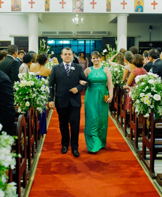 Juliana e Marcelo.