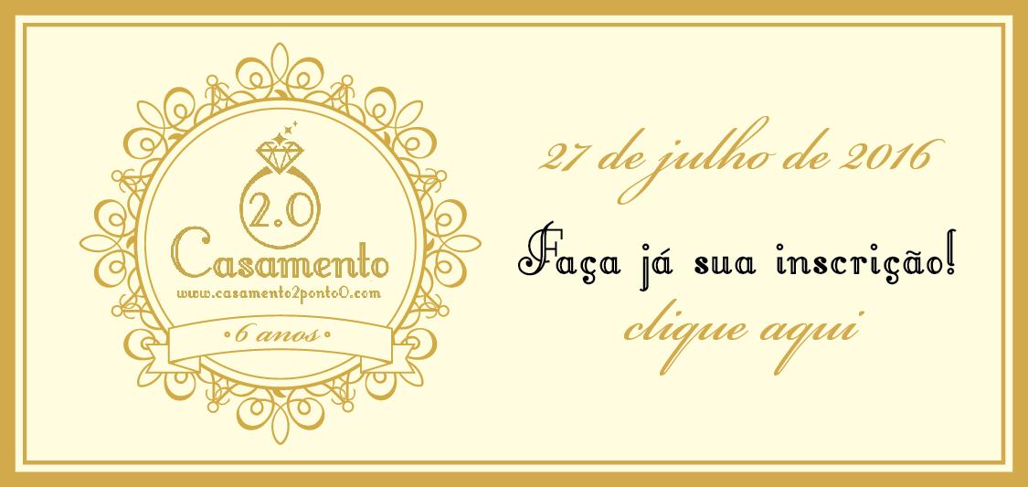 Aniversário de 6 anos do blog Casamento 2.0