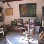 casa rural monaut zaguán