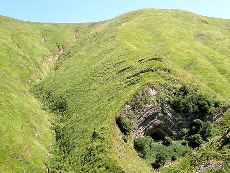 Cueva de Harpea en Francia Selva de Irati
