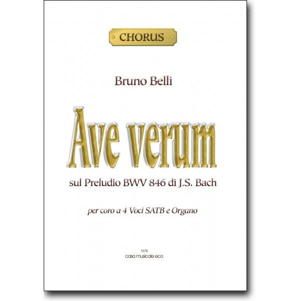 Ave verum sul preludio BWV 846 di JSBach  Casa Musicale Eco