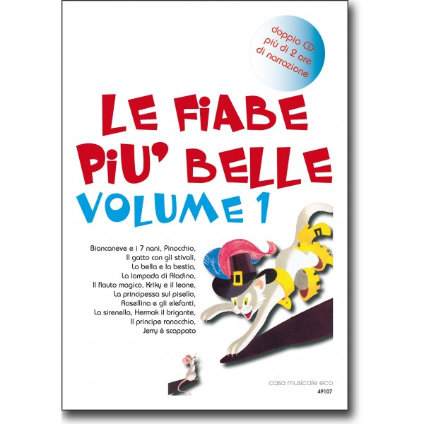 Le fiabe pi belle vol 1  2CD  Casa Musicale Eco