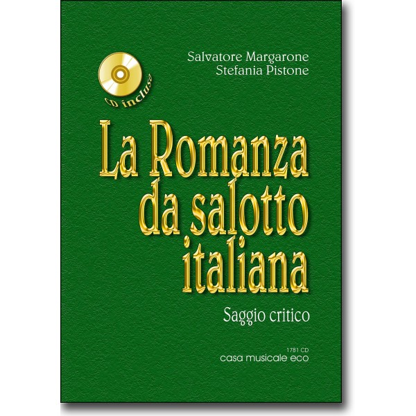 La Romanza da salotto italiana  CD  Casa Musicale Eco