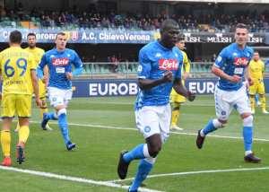 Napoli Chievo.Napoli 1-3