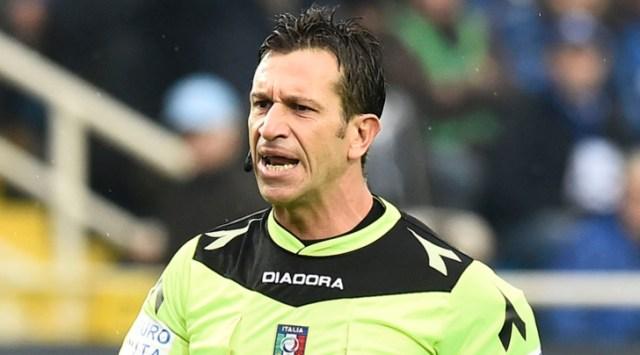 Arbitro Napoli Inter