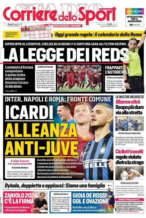Icardi Mauro-Napoli-Corriere dello Sport