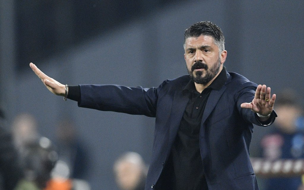 Napoli Torino Gattuso gazzetta