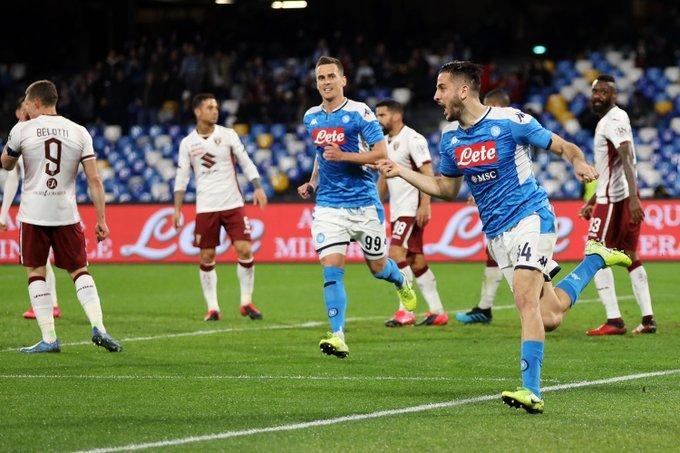 Uefa Napoli Torino Manolas