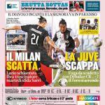 """Prima Pagina GdS: """"Il Milan scatta. La Juve scappa"""""""