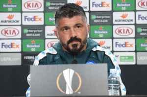 Gattuso Napoli Europa conferenza
