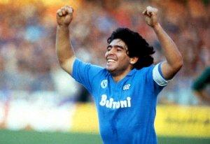 Grazie a Dios ho visto Maradona
