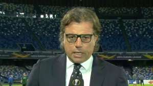 Cristiano Giuntoli - ds Napoli Europa League Sky