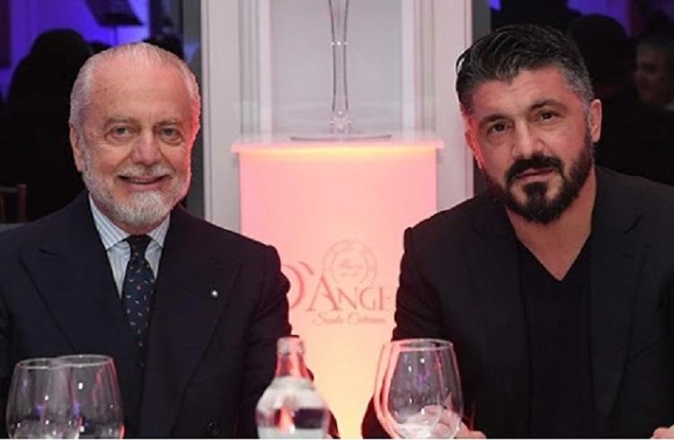 De Laurentiis e Gattuso