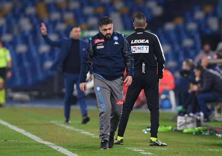 Napoli con la Sampdoria