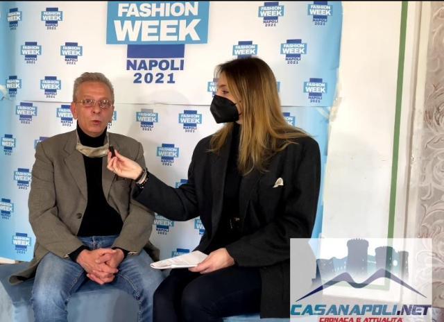 Napoli Fashion Week 2021; backstage