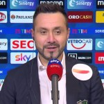 """De Zerbi: """"Inter e Milan le più complete, ma il Napoli può fare grandi cose"""""""