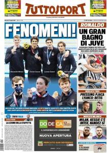 prima pagina tuttosport