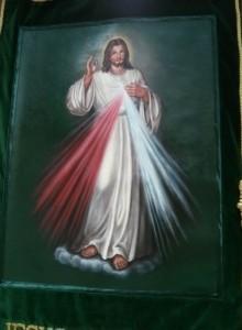 ESTANDARTE DE JESUS DE LA DIVINA MISERICORDIA