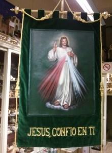ESTANDARTE JESUS DIVINA MISERICORDIA