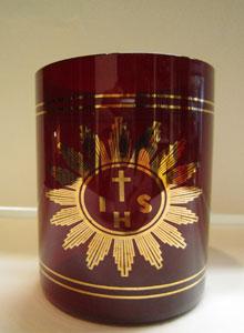 vaso-cristal-jhs-peq-rojo-rubi-para-cera-liquida