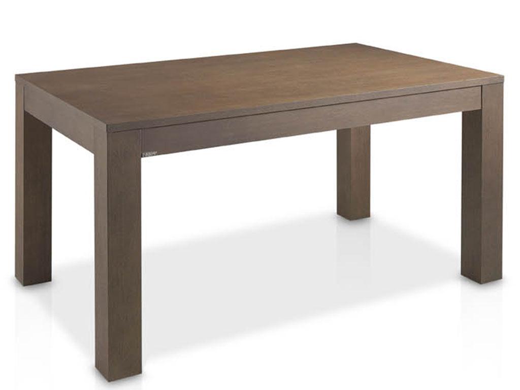 mesas de comedor extensible fabricada en madera de roble