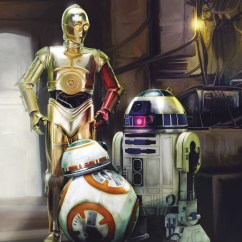 4-447 Star Wars Three Droids