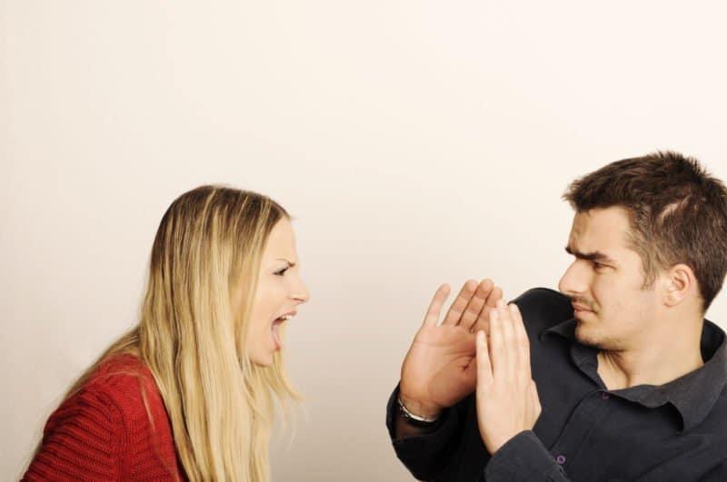 Streit in einer Beziehung