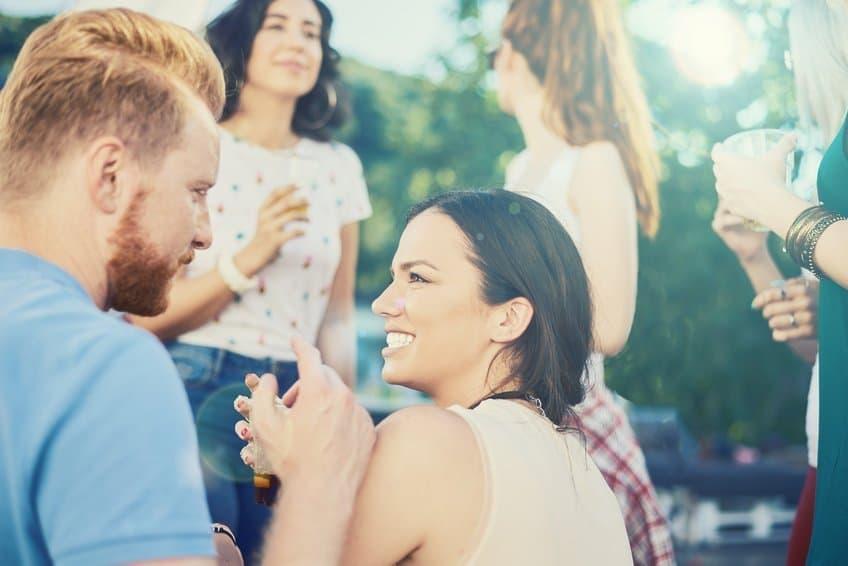 Flirtsprüche zum frauen ansprechen