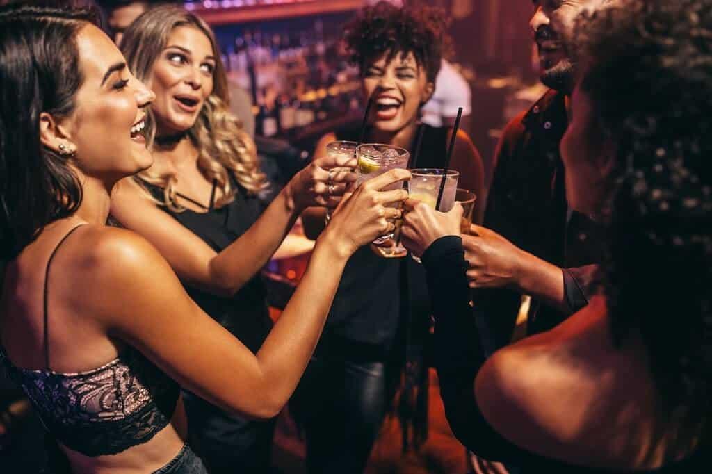 Flirten im Club