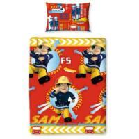 Pacchetto bambini Fireman Sam lenzuola per letto singolo