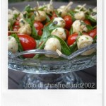 Ricette estive: spiedini freddi tricolore