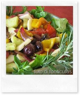 insalata greca campagnola