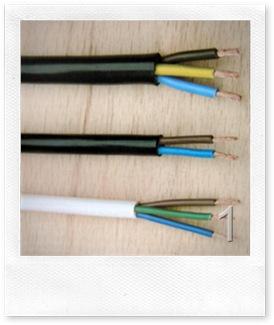 alcuni tipi di cavo elettrico