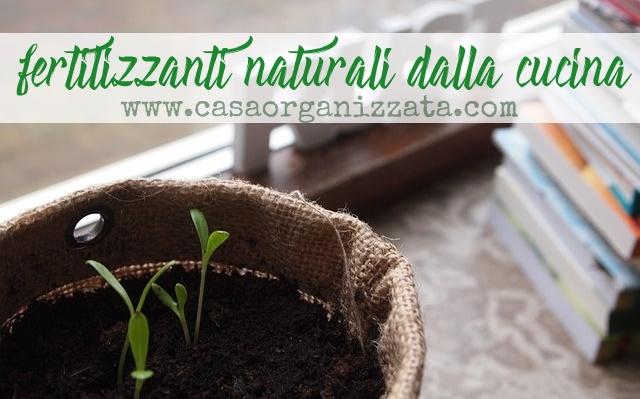 Piante e giardinaggio: fertilizzanti naturali dalla cucina - Casa ...