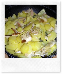 Ricette autunnali: funghi porcini e colombine con patate