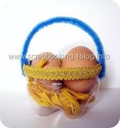 Pasqua con i bambini: cestini per uova riciclando le bottiglie