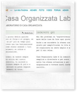 Casa Organizzata Labs