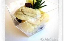Ricette Veloci: conchiglie con sogliola, olive e mele granny smith