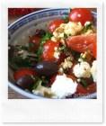 Ricette estive: insalata tricolore veloce