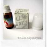 Allume di potassio come deodorante: alcune informazioni utili e un'idea
