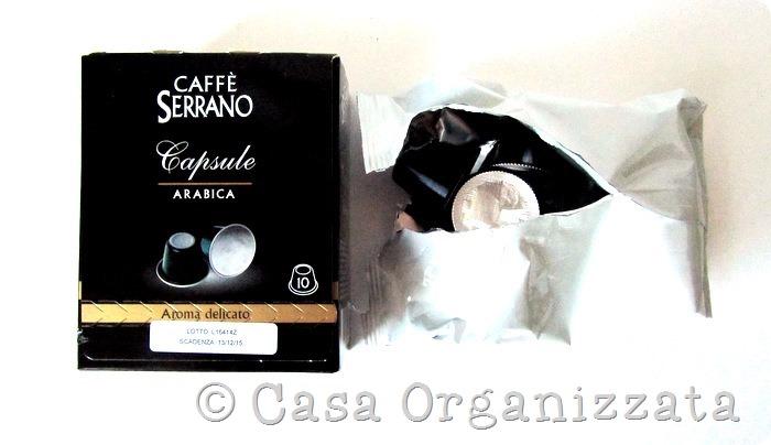 Recensione buoni prodotti: capsule caffè Serrano