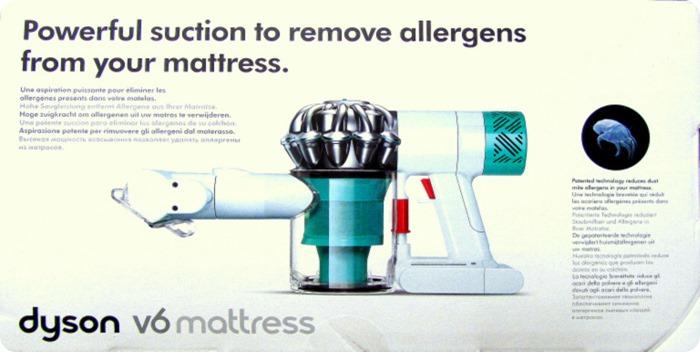Dyson V6 Mattress: dichiaro guerra agli acari