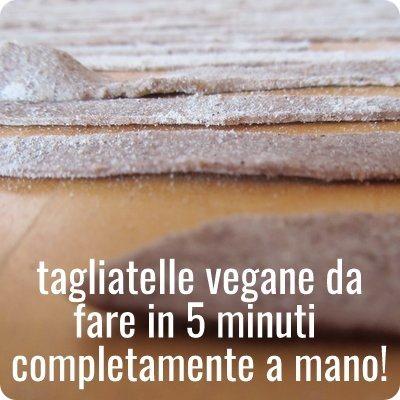 Autoproduzione fare la pasta fresca vegana senza uova  Casa Organizzata