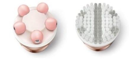 Satinelle Prestige Wet & Dry - le testine esfoliante e massaggio