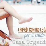 10 rimedi contro le gambe gonfie per il caldo estivo