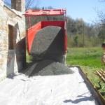 Terrassenbau im Piemont