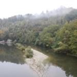 Der Tanaro im Herbst