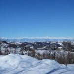 Blick auf den Monte Viso