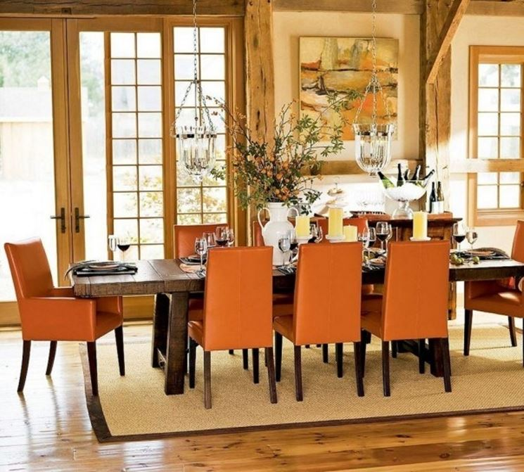 Arredare la sala da pranzo  Arredare la casa  Arredamento living