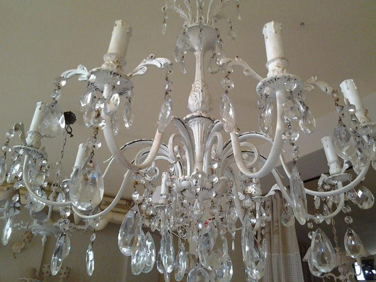 Caratteristiche del lampadario a gocce  Lampade e lampadine  Tipologie e differenze dei
